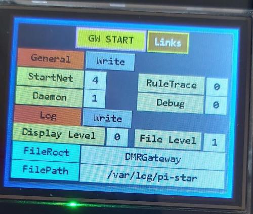 DMR Gateway General Parameters