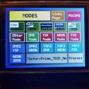 Modes Screen