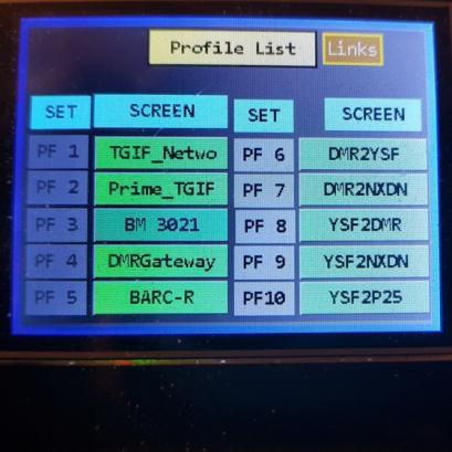 Profile List
