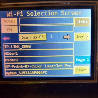 WiFi Screen